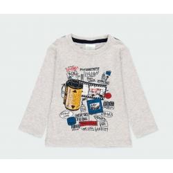 Camiseta punto fotos de bebé niño Boboli