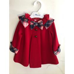 Vestido bebé Miranda rojo